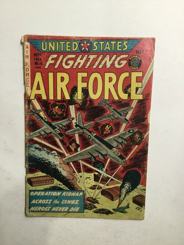 U.S. Fighting Air Force 10 Good- Gd- 1.8 Superior Comic