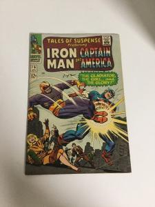 Tales Of Suspense 76 Fn/Vf Fine/Very Fine 7.0 Iron Man Captain America