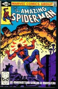 AMAZING SPIDER-MAN #218-1981-MARVEL-very fine VF