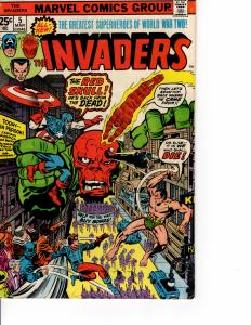 MARVEL The Invaders (1975 Series) # MAR 1976 VF-