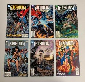 Superman & Batman Generations 3 #1-12 Set (DC 2003) John Byrne (9.0+)