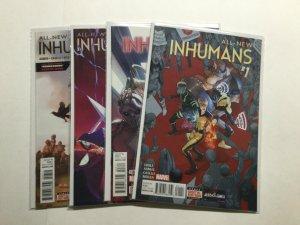 All-New Inhumans 1 3 6 7 Lot Run Set Near Mint Nm Marvel