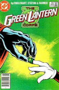 Green Lantern (1960 series) #203, Fine+ (Stock photo)