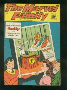 MARVEL FAMILY #30 1948-CAPTAIN MARVEL-MARY MARVEL-FAWCETT-fine FN