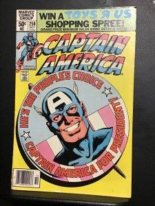 Captain America #250 (1980) mid high grade John Byrne art! FN/VF Wow!