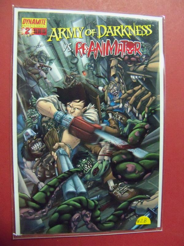ARMY OF DARKNESS VS. RE-ANIMATOR  #2B  (9.4 or better)  1ST PRINT