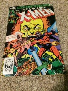 Uncanny X-Men #161 VF Marvel Origin of Magneto and Professor X First Meet 1982