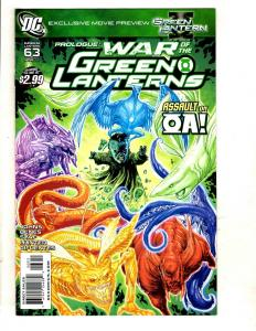 Lot Of 6 DC Comic Books Green Lantern # 63 64 65 66 67 + Red Lanterns 1 CJ10
