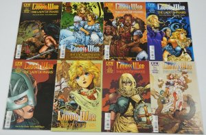 Record of Lodoss War: The Lady of Pharis #1-8 VF/NM complete series -fantasy CPM