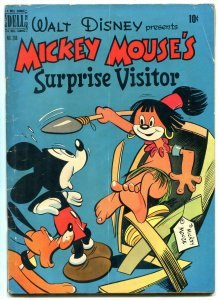 Mickey Mouse Surprise Visitor- Four Color Comics #268 1950 VG
