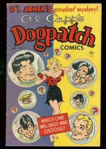 AL CAPP'S DOGPATCH COMICS #2 1949-LI'L ABNER-DAISY MAE FN