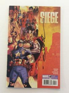 SIEGE #4 - 1st Print - Signed by Artist Olivier Coipel w/COA