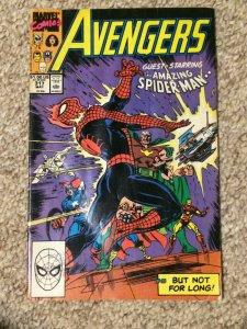 Avengers #317 Guest Starring Spider-Man F/VF 1990 Marvel