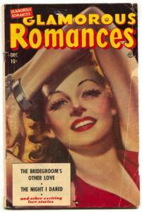 Glamorous Love #49 1950- Night I Dared-  Ace romance G/VG