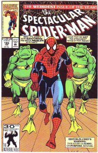 Spider-Man, Peter Parker Spectacular #185 (May-92) NM/NM- High-Grade Spider-Man
