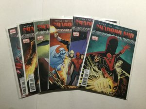 Shadowland 1-5 1 2 3 4 5 Elektra One-Shot Limited Series Lot Marvel