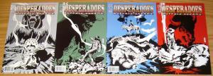 Desperadoes: Buffalo Dreams #1-4 VF/NM complete series JEFF MARIOTTE western set