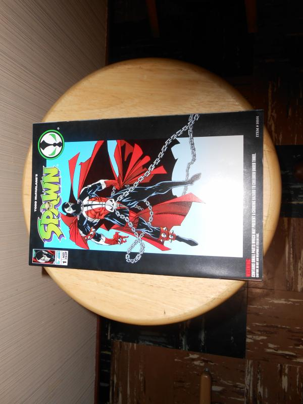 Spawn Action Figure Comic Spawn (1994) #1 1994 Todd Toys