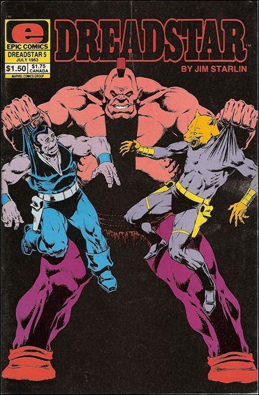 Epic DREADSTAR (1982 Series) #5 VF/NM