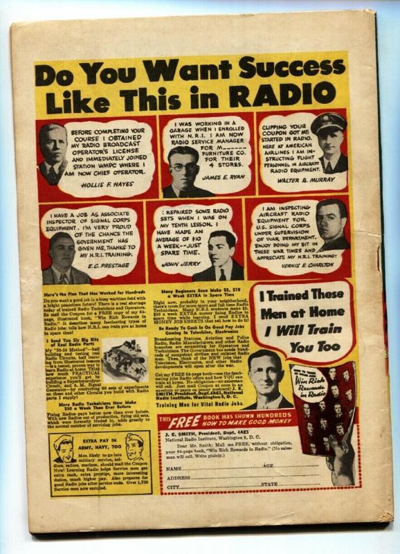 Super Magician Vol. 2 #11 1944-dismemberment panels-voodoo-Blackstone-FN-