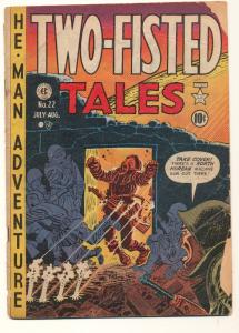 Two-Fisted Tales (1950 series) #22, Good+ (Actual scan)