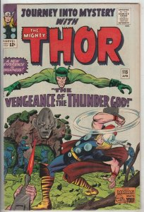Journey into Mystery #115 (Apr-65) VF/NM High-Grade Thor