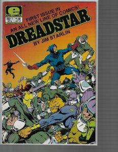 Dreadstar #1 (Epic, 1985) Jim Starlin - High Grade