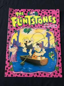 Flintstones Coloring and Activity Book Pink cover 1994