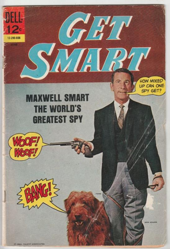 Get Smart #1 (Jun-66) VG Affordable-Grade Agent 86, Agent 99, Chief