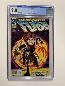 Flash 92 Cgc 9.8 1994 1st Impulse White Pages Dc Comics