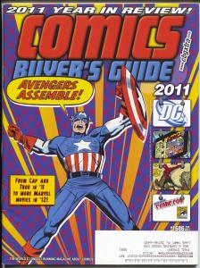 Comics Buyer's Guide #1686 2012-Krause-Captain America-Buy & sell ads-FN