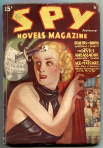 Spy Novels Pulp #1 February 1935- Dealers in Doom- GGA FN-