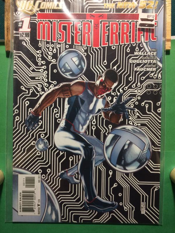 Mister Terrific #1 The New 52