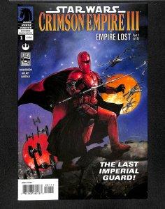 Star Wars: Crimson Empire III - Empire Lost #1 VF+ 8.5