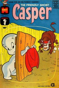 Friendly Ghost, Casper, The #34 POOR; Harvey | low grade comic - save on shippin