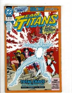 Team Titans #1 (1992) YY9