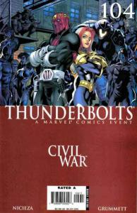 Thunderbolts (2006 series) #104, NM (Stock photo)