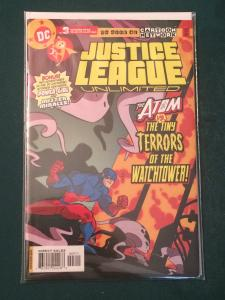 Justice League Unlimited #3 The Atom vs The Tiny Terrors of the Watchtower!