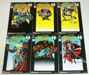 Spawn Toys Comics #1-6 complete series - tremor violator clown overkill - figure