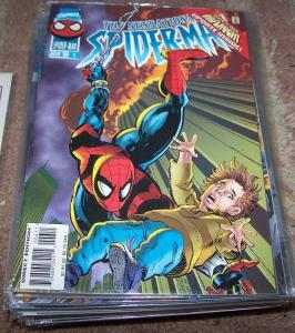 SENSATIONAL SPIDER-MAN COMIC # 6 1996  Marvel  ONSLAUGHT  BEN REILLY CLONE