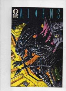 ALIENS #6, VF, Mark Verheiden, Mark Nelson 1988 1989, 1st, more Horror in store