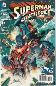 SUPERMAN UNCHAINED # 3A (2013)