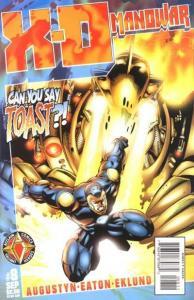 X-O Manowar (1996 series) #8, VF+ (Stock photo)