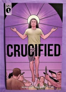 Sheldon Allen CRUCIFIED #1 Armin Ozdic Exclusive Variant Cover (Scout, 2019)!