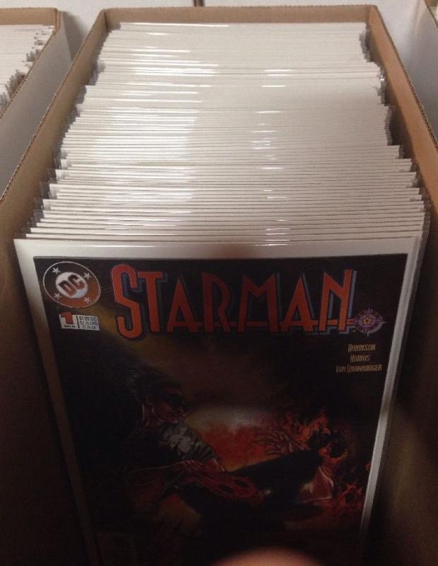 Starman 0 1-80 Annual 1-2 Near Mint Lot Set Run