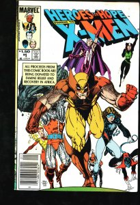 Heroes for Hope Starring the X-Men #1 (1985)