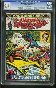 AMAZING SPIDER-MAN #117 1973-CGC GRADED 9.4 -ROMITA - 0207318007