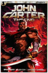 John Carter The End #1 Cvr E (Dynamite, 2017) NM