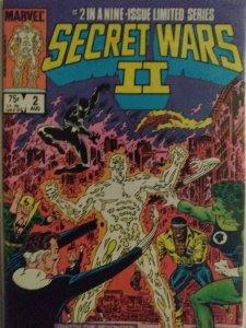 Secret Wars II # 1-9 8.0 VF AMAZING DEAL