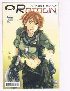 Rotogin Junkbotz # 0 NM Image Comic Book Jay Lee J Korim Kaylin Dakota S80